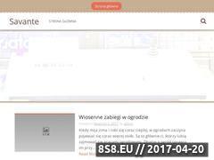 Miniaturka domeny savante.pl