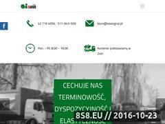 Miniaturka domeny www.sawogruz.pl