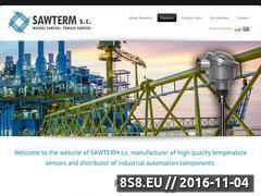 Miniaturka domeny www.sawterm.pl