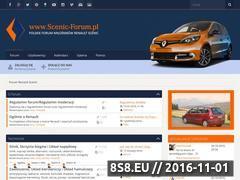 Miniaturka www.scenic-forum.pl (Polskie Forum Miłośników Renault Scenic)