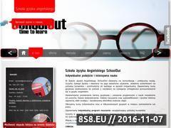 Miniaturka domeny www.schoolout.pl