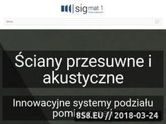 Miniaturka scianyprzesuwne.com (Ściany przesuwne)