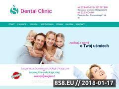 Miniaturka sdentalclinic.pl (Stomatologia dla dorosłych)