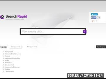 Zrzut strony Darmo wyszukiwarka rapidshare