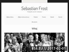 Miniaturka domeny www.sebastianfrost.com