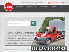Miniaturka domeny www.sebik.pl
