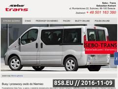 Miniaturka domeny www.sebo-trans.pl