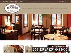 Miniaturka domeny www.secesjacafe.com.pl
