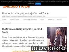 Miniaturka domeny www.second-trade.eu