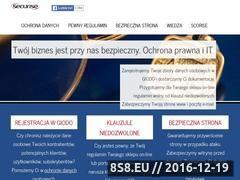 Miniaturka domeny www.securise.pl