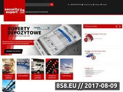 Miniaturka securityexpert24.com (Zabezpieczenia logistyczne i plomby transportowe)