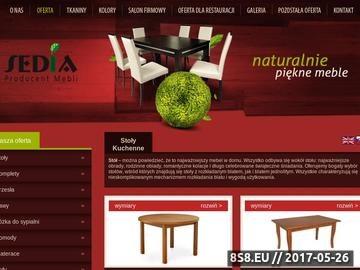 Zrzut strony Producent stołów - producent krzeseł