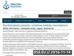 Miniaturka domeny www.selection-maritime.pl