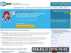 Miniaturka domeny www.sembox.pl
