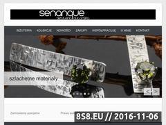 Miniaturka domeny senanque.pl