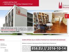 Miniaturka www.senior-residence.pl (SENIOR RESIDENCE - dom starców śląskie)