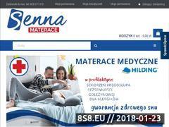 Miniaturka domeny sennamaterace.pl