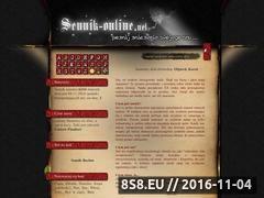 Miniaturka domeny www.sennik-online.net
