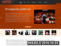 Miniaturka domeny sensi.com.pl