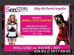 Miniaturka domeny www.sensual-shop.pl