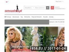 Miniaturka domeny sensualna.pl