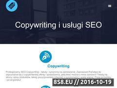 Miniaturka seo-synonimy.pl (Copywriting i usługi <strong>seo</strong>)