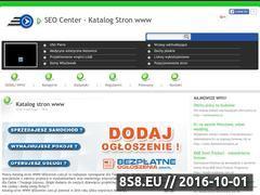 Miniaturka www.seocenter.com.pl (Katalogwanie stron, promocja firm)