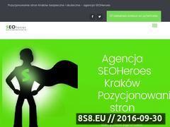 Miniaturka seoheroes.pl (Pozycjonowanie stron i marketing w Internecie)