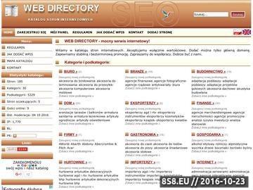 Zrzut strony SEO katalog ONE
