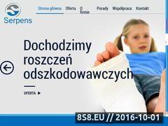 Miniaturka domeny serpens.com.pl