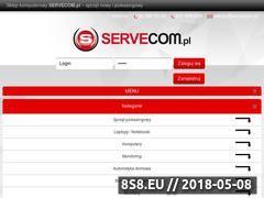 Miniaturka servecom.pl (Sprzęt IT nowy i używany, komputery oraz laptopy)