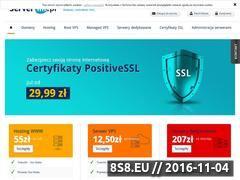 Miniaturka serverini.pl (Hosting, domeny i usługi)