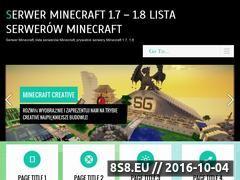 Miniaturka domeny serwerminecraft.pl