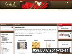 Miniaturka domeny serwet.pl