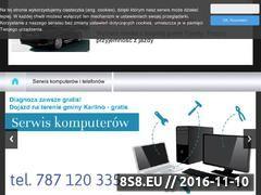Miniaturka domeny www.serwis-karlino.cba.pl