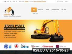 Miniaturka domeny www.serwis-kop.pl