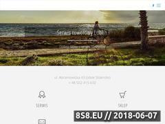 Miniaturka domeny serwis-rower.pl