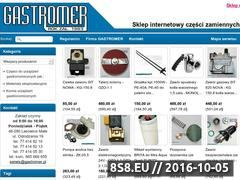 Miniaturka domeny serwis.gastromer.pl