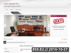 Miniaturka serwisacerwarszawa.pl (Naprawa laptopów i tabletów Acer)