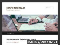 Miniaturka Blog dla biznesu (serwisdoradcy.pl)