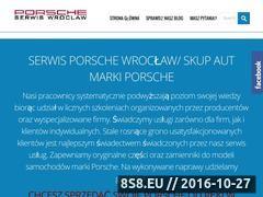 Miniaturka domeny www.serwisporsche.wroclaw.pl