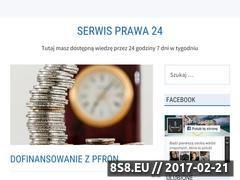Miniaturka Blog prawniczy (serwisprawa24.pl)