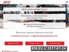 Miniaturka serwisvolvo.pl (Serwis samochodów marki Volvo)