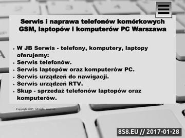 Zrzut strony Serwis telefonów Warszawa