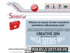 Miniaturka domeny seventi.pl