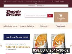 Miniaturka domeny www.shaggybrown.pl