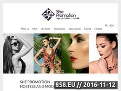 Miniaturka domeny www.shepromotion.pl