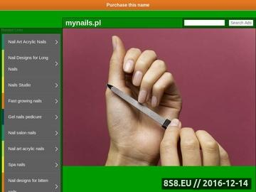 Zrzut strony Mynails