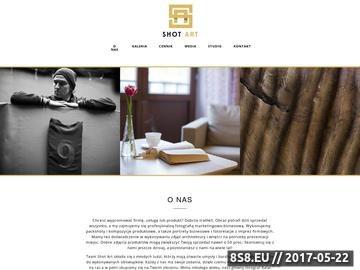 Zrzut strony Fotografia produktowa