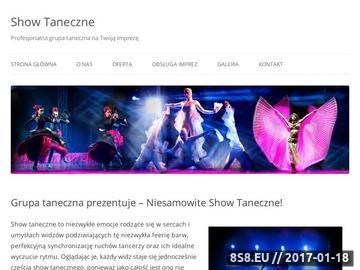 Zrzut strony Show Taneczne